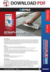 Dyna Dynaflex 600 Polymer Modified Thin Set Mortar