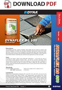 DYNA - DYNAFLEX RS 650 | Polymer-Modified Thin-Set Mortar (Quick