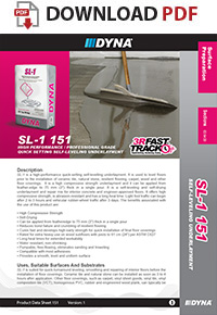 DYNA - SL-1 | High-Performance Self-Leveling Underlayment